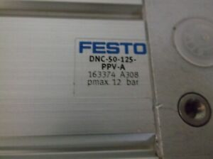Festo Dnc 50 125 ppv a Pneumatic Cylinder 50mm Bore 125mm Stroke