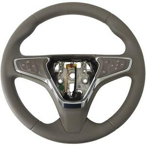 39084128 Steering Wheel Dk Atmosphere Vinyl W cruise W o Heat 16 18 Chevy Cruze