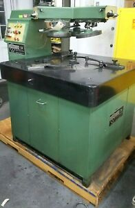 Lapmaster 24 Lapping Machine With Tooling Two Units Available Precision Polish