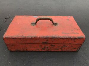 Vintage Snap On Tool Box Chest Built Like A Tank