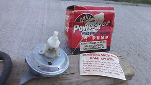 Nos Trico Power Jet Repeater Windshield Washer Pump Ford Dodge Plymouth Chevy