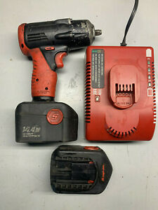 Snap On Ct4410a Versa Volt 3 8 Drive 14 4v Nicd Cordless Impact 2 Bat Charger