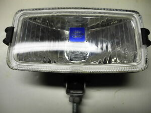 Pair Of Hella Rectangular Fog Or Driving Lamps With Covers