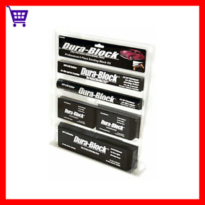 Dura Block Sanding Block Set 6 Piece Kit Auto Body Shop Tools Car Truck Garage