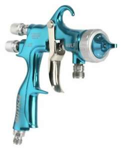 Binks 2465 10hv 32so Trophy Hvlp Pressure Fed Spray Gun 1 0 Mm Fluid Nozzle 32 A