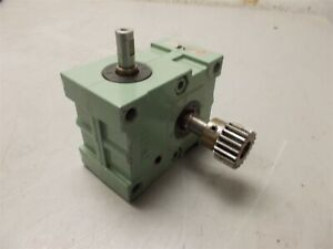 Tsubakimoto Emerson Emerworm Tem Tm13e60a 60 1 Ratio Gear Reducer speed Reducer
