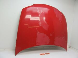 Hood Car Body Panel Engine Motor Cover Front Top Red Chevy For 03 04 05 Cavalier