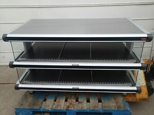 Hatco Glo ray Gr2sds 48d 2 Tier Food Display Warmer Heated Tray Self Serve