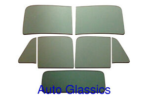1951 1952 1953 Chevrolet Or Gmc 3 Window Pickup Truck Flat Glass Kit New Chevy