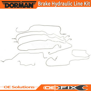 Dorman For 2000 2002 Chevrolet Silverado 1500 Brake Hydraulic Line Kit