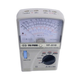 Portable Insulation Tester High Resistance Meter Yf 510 Ac Voltage 0 600v