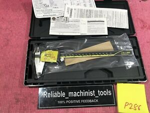 new Mitutoyo Japan Made 8 Inch Absolute Digital Caliper With Spc Output P286