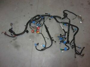 91 Corvette 350 Tpi 6 Speed Engine Wiring Harness 90 Speed Density Zf6 Clean