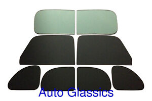 1937 1938 1939 Ford Coupe Flat Glass Kit New Classic Auto Restoration Windows