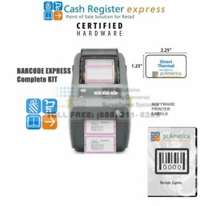 Pcamerica Bce Barcode Express Barcode Printing Package Software Printer Package