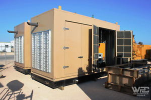 Used 190 Kw Cat G3406 Natural Gas Continuous Rated Generator