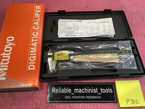 new Mitutoyo Japan Made 8 Inch Absolute Digital Caliper machinist Tool P310