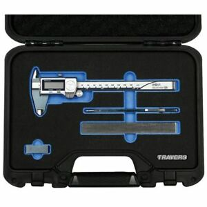 Travers Tra 02 4 Pc Measuring Set W mitutoyo 500 752 20 Caliper In Fitted Case