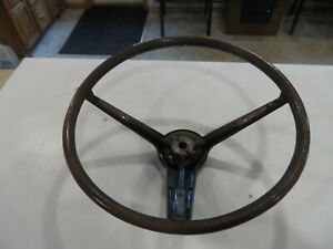 1970 70 Ford Mustang Mercury Cougar Xr7 Mach1 Eliminator Rim Blow Steering Wheel