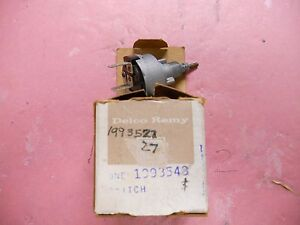 59 64 Gm 1993543 Windshield Wiper Switch 2 speed Corvette Chevy Buick Olds
