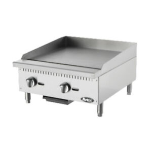 Atosa Atmg 24 Countertop Gas Cookrite Heavy duty Griddle