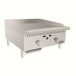 Atosa Atmg 24t Countertop Gas Cookrite Heavy duty Griddle