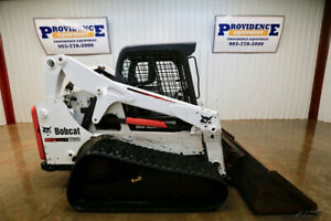 2013 Bobcat T650 Skid Steer Track Loader 74 Hp Float Tipping Load 7 343 Lbs