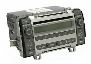 2009 2010 Toyota Matrix Amfm Radio Mp3 Single Cd Receiver 86120 02710 Face 11819