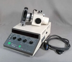 Olympus Microscope Camera And Exposure Control Unit Pm cbsp And Pm 10ads