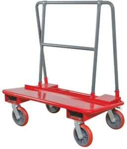 Metaltech Drywall Cart With 3000 Lbs Load Capacity