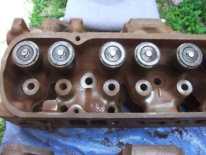 1975 Pontiac 455 4bbl Casting 51 2 11 166 Screw In Stud Cylinder Heads