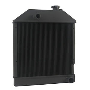 4 Row Radiator For Ford New Holland Tractor 3230 3430 3930 4130 4630 E9nn8005aa