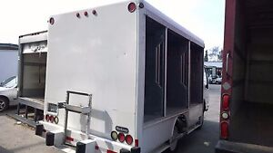 12ft Box Hackney Beverage Water Vending Battery Delivery Isuzu Gmc Ford Hino Ud
