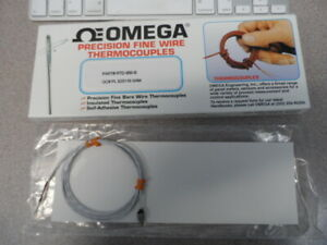Omega Engineering Rtd 850 b Precision Fine Wire Thermocouples New