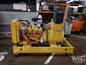 Used 55 Kw Katolight N55fpg4 Natural Gas Generator