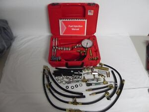 Atd Tools 5549 Deluxe Fuel Injection Pressure Test Set