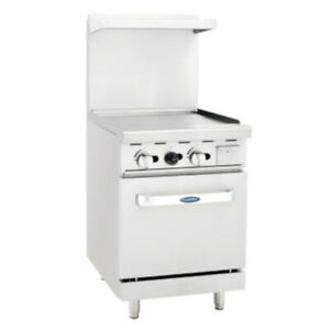 Atosa Ato 24g 24 Cookrite Gas Restaurant Range With Griddle