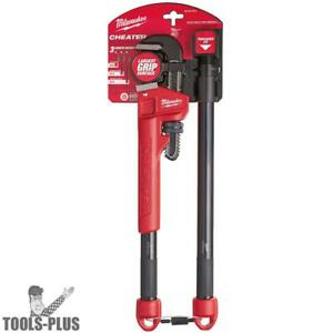 Milwaukee 48 22 7314 Adaptable Cheater Pipe Wrench New