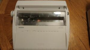 Brother Gx 6750 Electronic Typewriter Clean Tested Very Good Condition