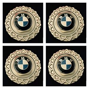 4pc Of New 1984 1991 Bmw Bbs 14 Wheel Center Hub Caps Styl 5 E30 318i 325e 325i