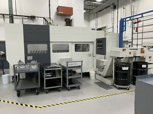 Giddings Lewis Hmc 170 Horizontal Machining Center