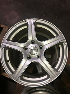 Sport Edition 7 5 x17 Rims set Of 4