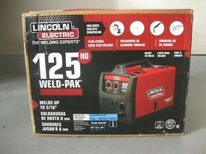 Lincoln Welder Welding Machine Unit W Gun Electric Flux cored Wire Feed K2513 1