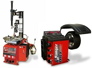 Combo R980xr W Swing arm 25 Tire Changer Dst2420 Balancer