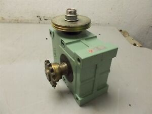 Tsubakimoto Emerson Emerworm Tem Tm22e40a 40 1 Ratio Gear Reducer speed Reducer