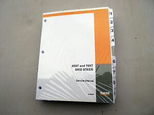 Case 60xt 70xt Skid steer Service Repair Shop Manual Book Brand New Unopened