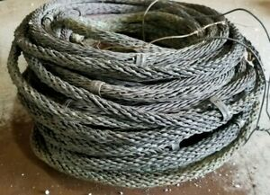 Antique Copper Braided Lightning Rod Ground Cable 20 14 Pounds 3 8 93 Feet