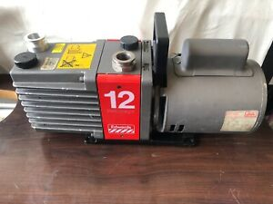 Edwards 12 E2m12 Two Stage Rotary Vane Vacuum Pump