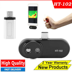 Ht 102 Black Usb Type c Infrared Camera Thermal Imager 640x480 For Android Phone