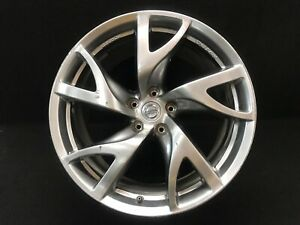 Nissan 370z Oem Sport Rays Rear Wheel Rim 19x10 Factory